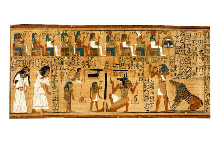 With a total length of nearly 78 feet, the Ani Papyrus is the most complete surviving ...