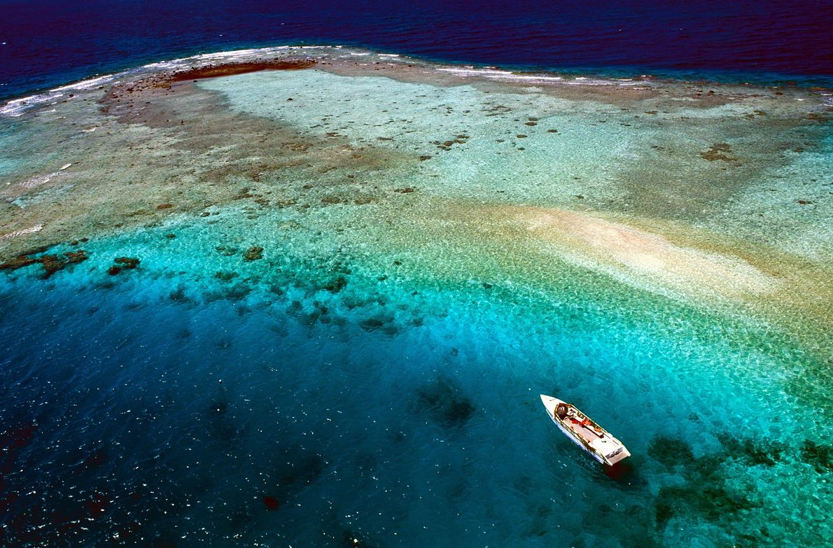 Remote Rangiroa is the world's second largest atoll; all of Tahiti—French Polynesia's largest island—could fit inside. ...