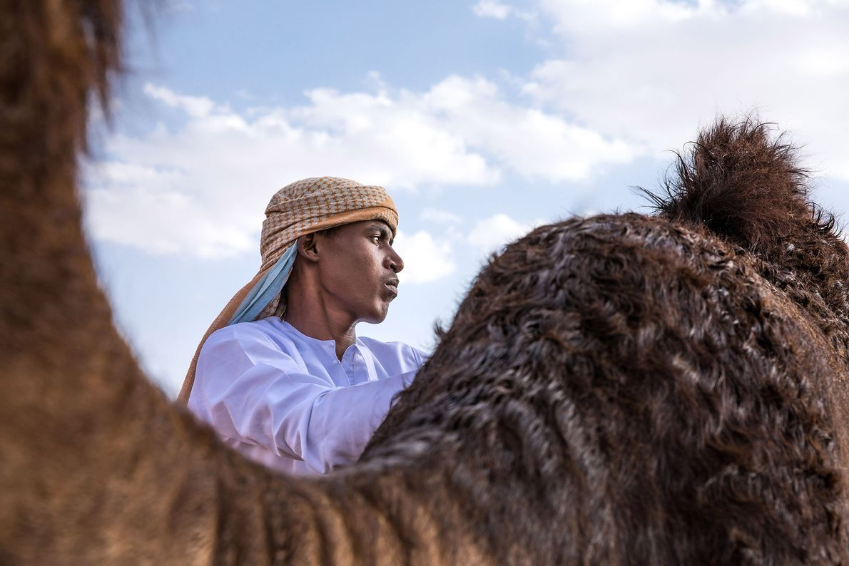 Your Shot photographer Kertu Saarits was visiting a Bedouin camp near Abu Dhabi when she saw ...
