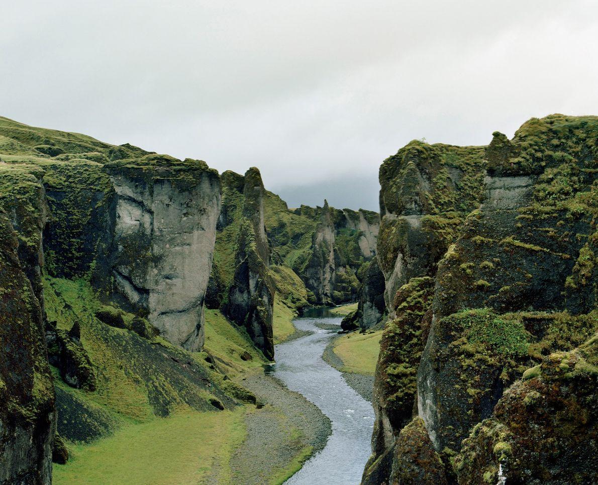 Fjaðrárgljúfur Canyon, Southern Iceland