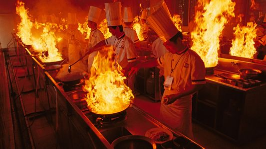 16 kitchen scenes around the world – and through the decades
