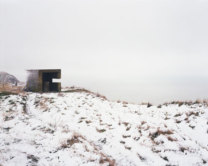 "Abbot's Cliff, Kent, 2010. Marc Wilson: ""Separated from France by only 21 miles of sea, Kent has ..."