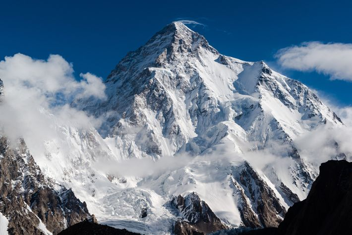 Of the world's tallest mountains, K2 is considered by far the most difficult and dangerous because ...