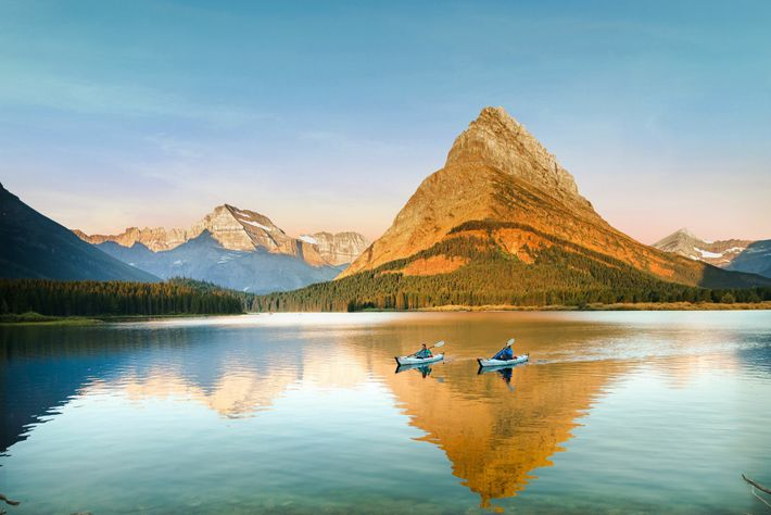 Glacier National Park in Montana is home to pristine forests, rugged mountains and spectacular lakes.