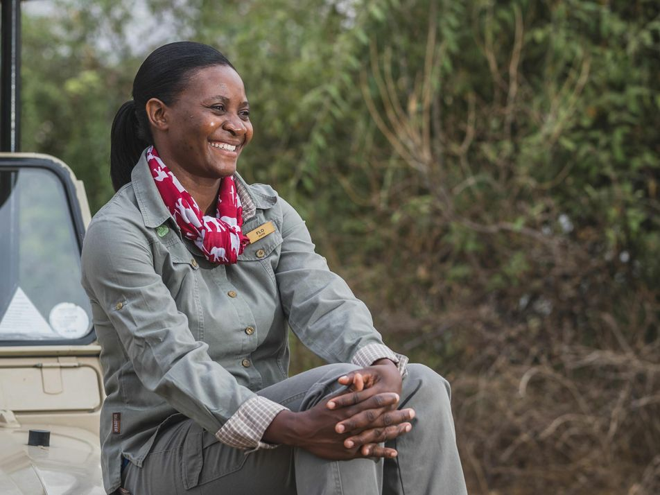 Meet Florence Kagiso, the leader of Africa's first all-female team of safari guides