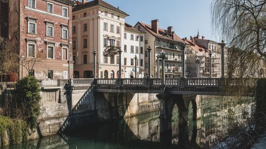 The Ljubljanica is key to life here; a central artery where students come to drink craft ...