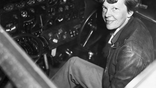 Amelia Earhart hoped to cap her career in 1937 by becoming the first woman to fly ...