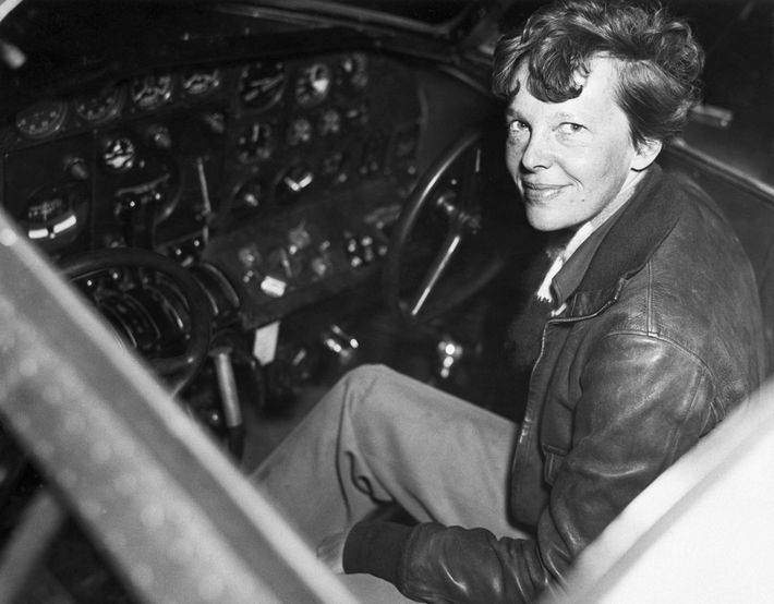 Earhart hoped to cap her career in 1937 by becoming the first woman to fly around ...
