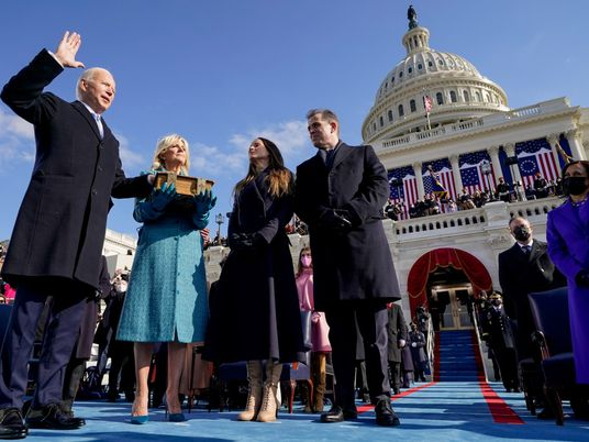 America's first 'virtual' inauguration ushers in a transformed era