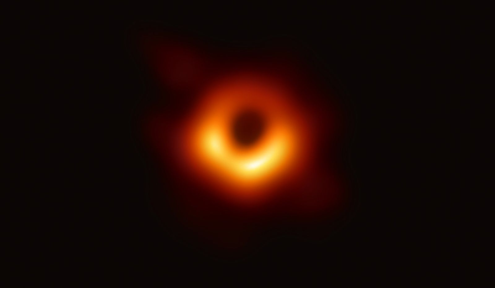 First-ever picture of a black hole unveiled