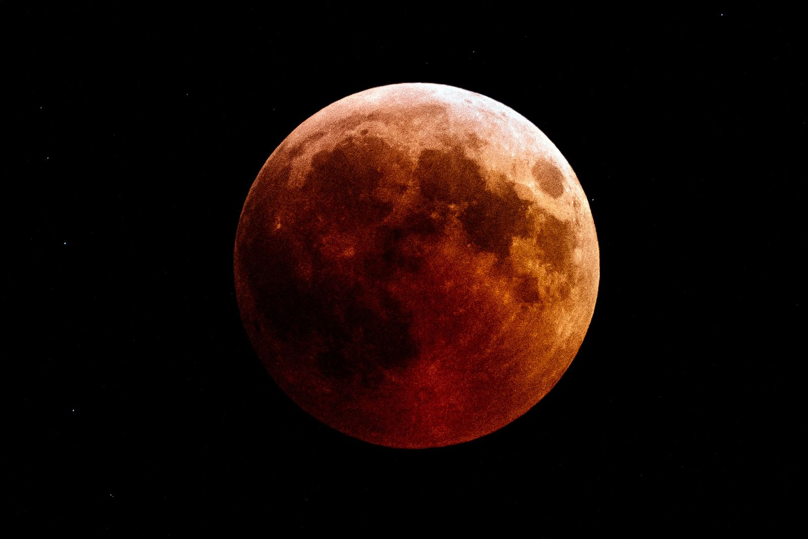 'Super Blood Wolf Moon' will be visible in the early hours of Monday