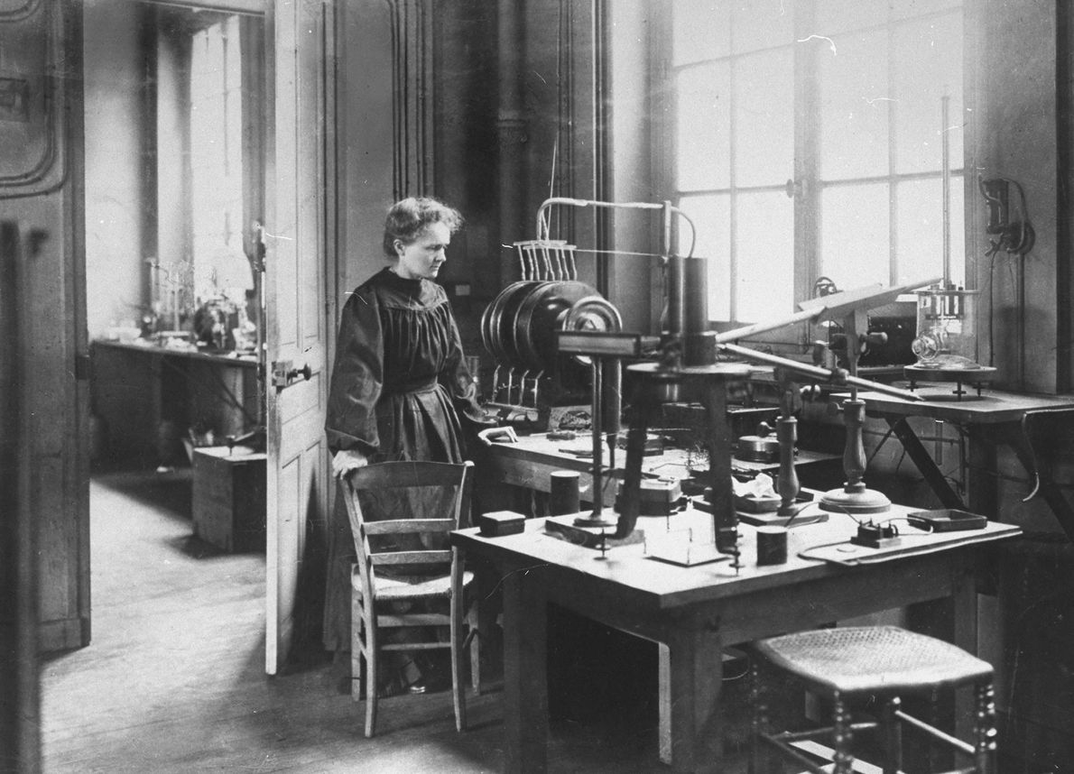 Like Marie Curie, women during WWI put themselves in harm's way by using radiation to take ...