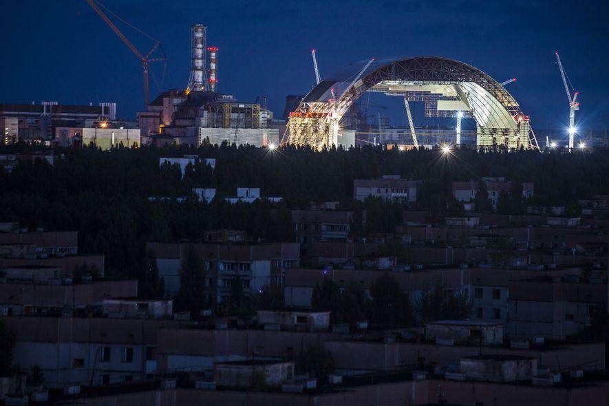 Chernobyl's Radioactive Ruins Get a New Tomb