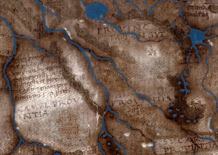 A 500-year-old map used by Columbus reveals its secrets