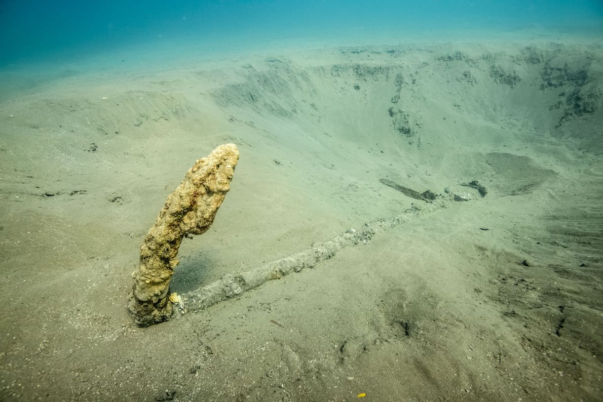 This 16th-century anchor may help researchers eventually locate what's known as the 'Lost Fleet' of conquistador ...