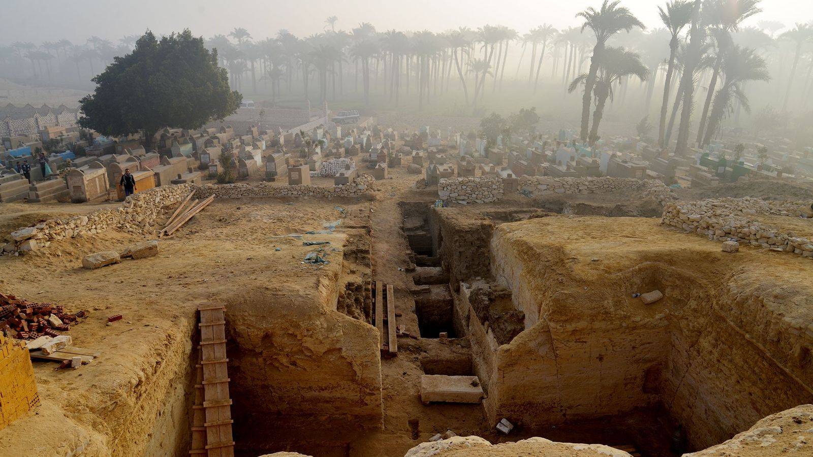 The large collection of ancient burials at Lisht in Egypt could offer insights into life and ...