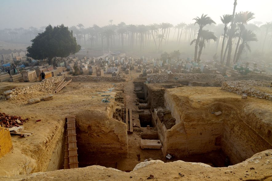 More Than 800 Egyptian Tombs Revealed in Ancient Burial Ground