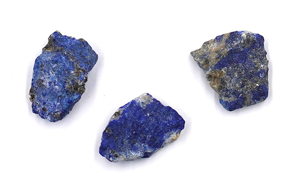 Mined in Afghanistan, lapis lazuli was worth more than its weight in gold in medieval Europe, ...