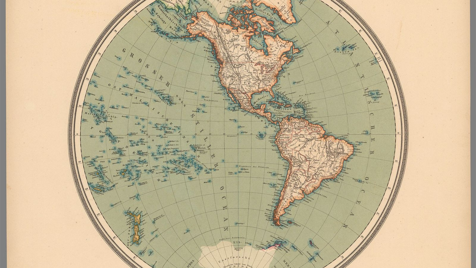 Contrary to the map many of us have in our minds, almost all of South America ...