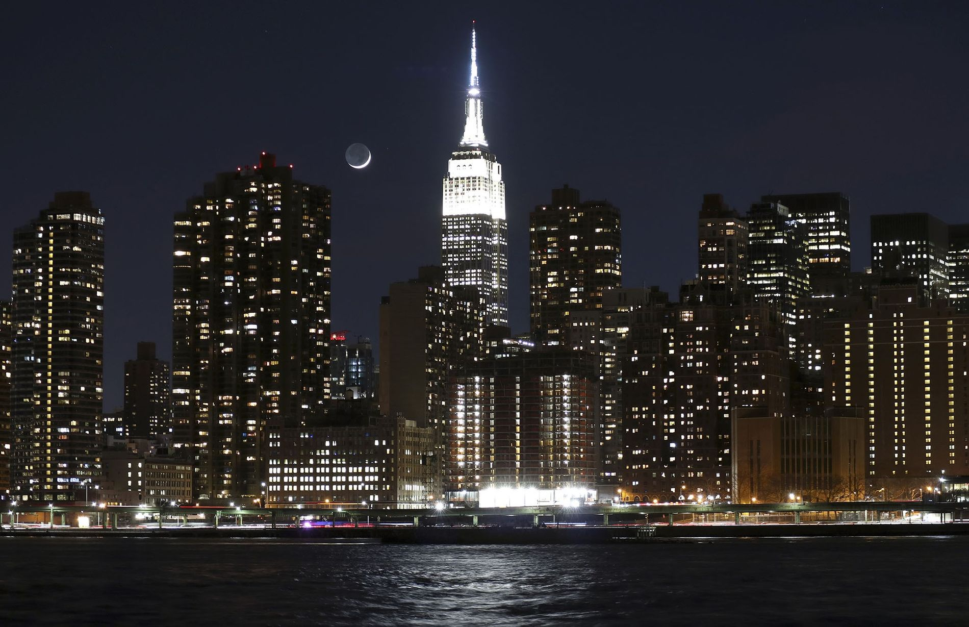 The Empire State Building's facelift included its signature lights, now LEDs with millions of color combinations ...