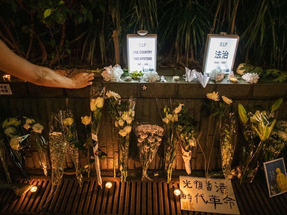 Hong Kong mourns the end of its way of life as China cracks down on dissent
