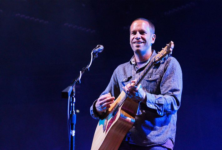 "Jack Johnson performs in Monterey, California. The musician recently wrote a song, ""Fragments"" inspired by the ..."