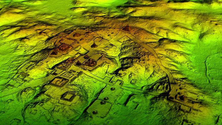 See how LiDAR brings a hidden Maya site to life and discovers a new major discovery