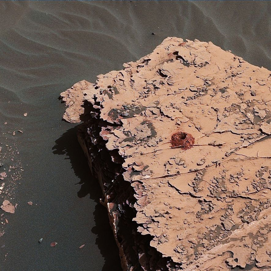 Building Blocks of Life Found on Mars