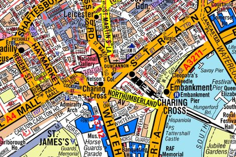 Az London Street Map.Demystifying The Ancient Tangle Of London S Streets National