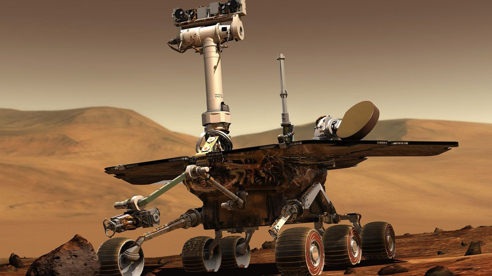 In January 2004, the twin rovers Spirit and Opportunity landed on opposite sides of Mars and ...