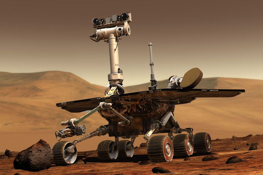 Mars Rover Powers Down During Dust Storm—But It's Not Dead Yet