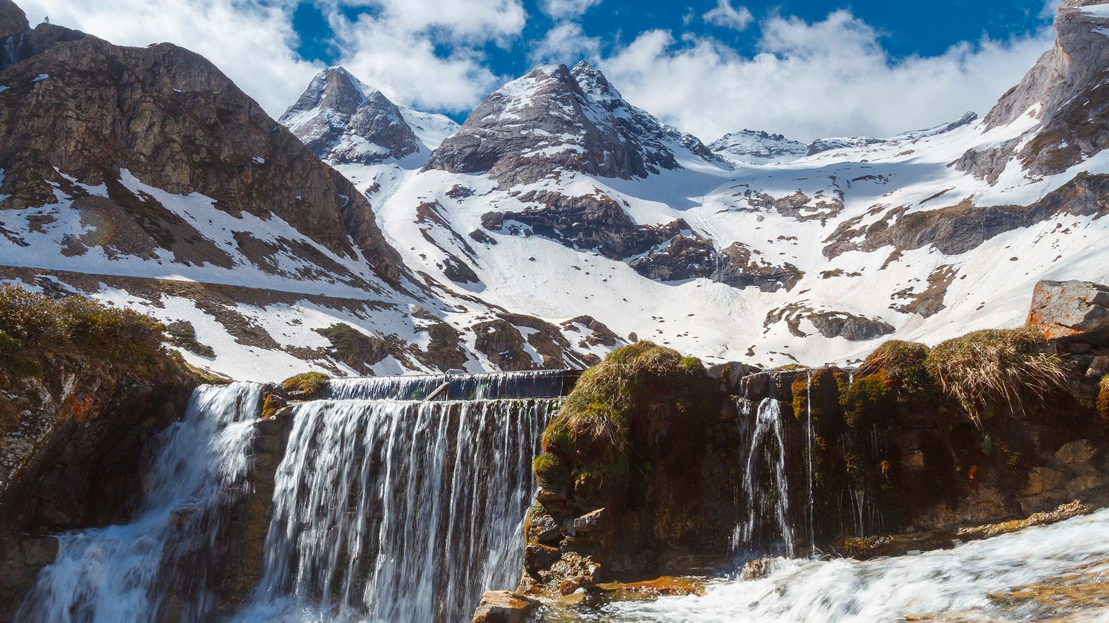A seismometer in the Pyrenees Mountains is listening to the sounds of river ice melting and ...