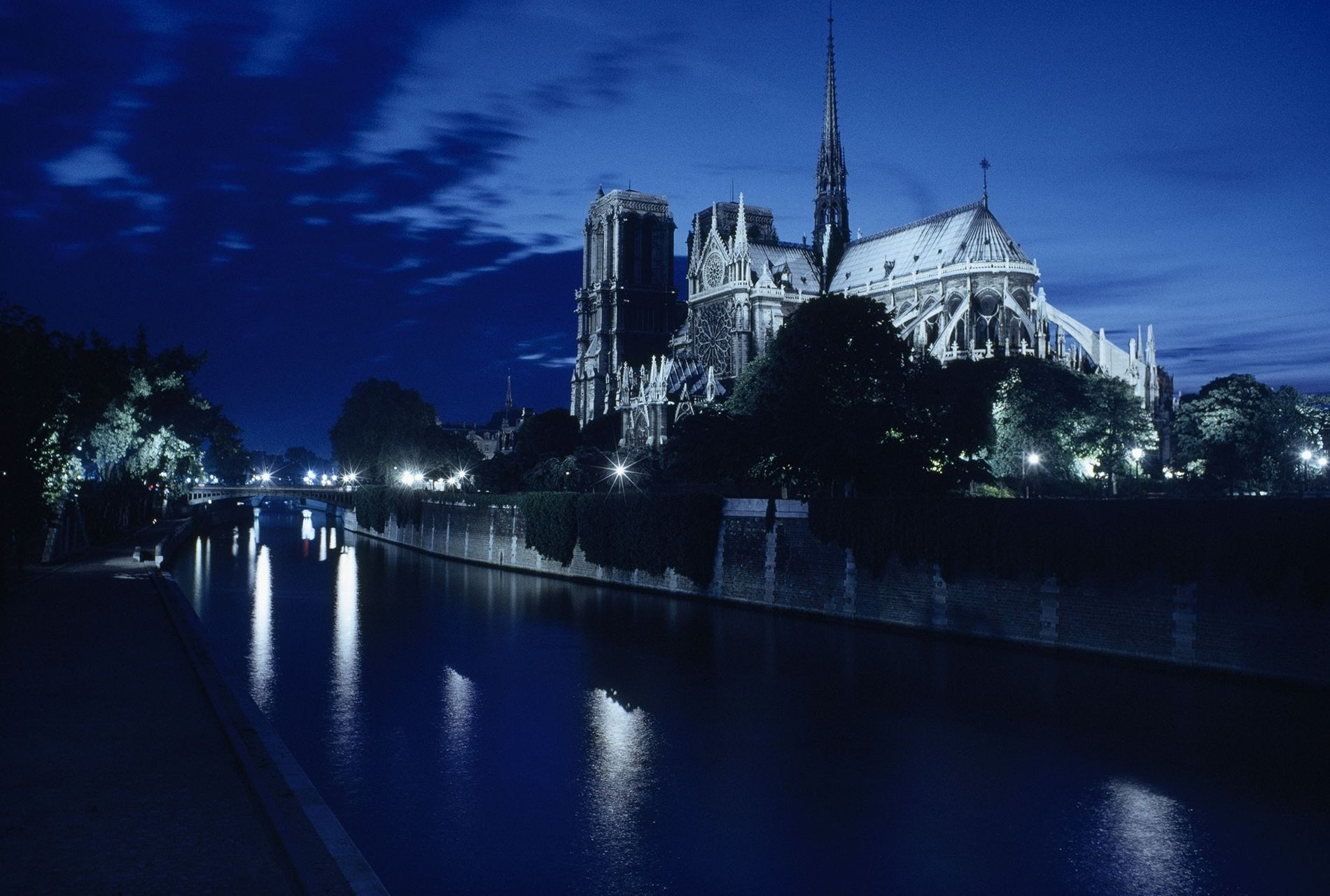 """Sublime and majestic edifice,"" wrote author Victor Hugo of the Cathedral of Notre Dame. The medieval ..."
