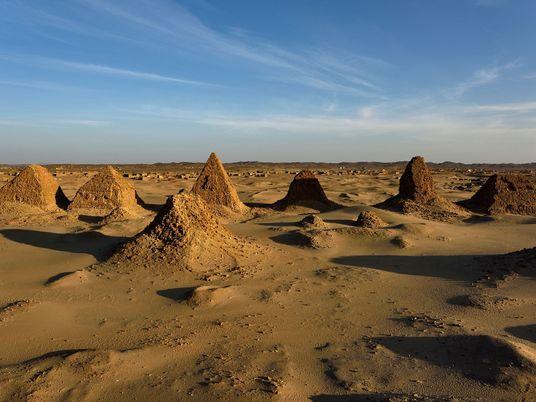 Dive beneath the pyramids of Egypt's black pharaohs