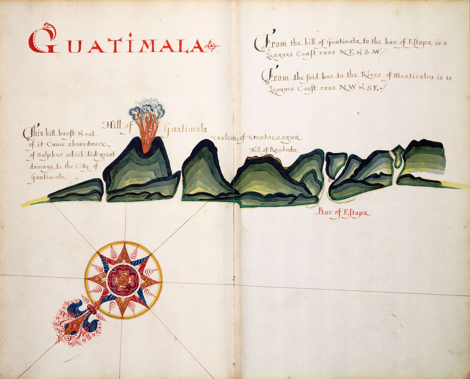 Explore an English pirate's plundered atlas