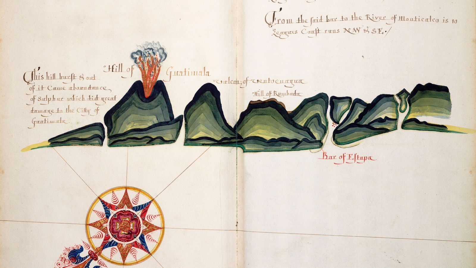English pirates were overjoyed when they seized a Spanish navigational atlas whose maps were used to ...