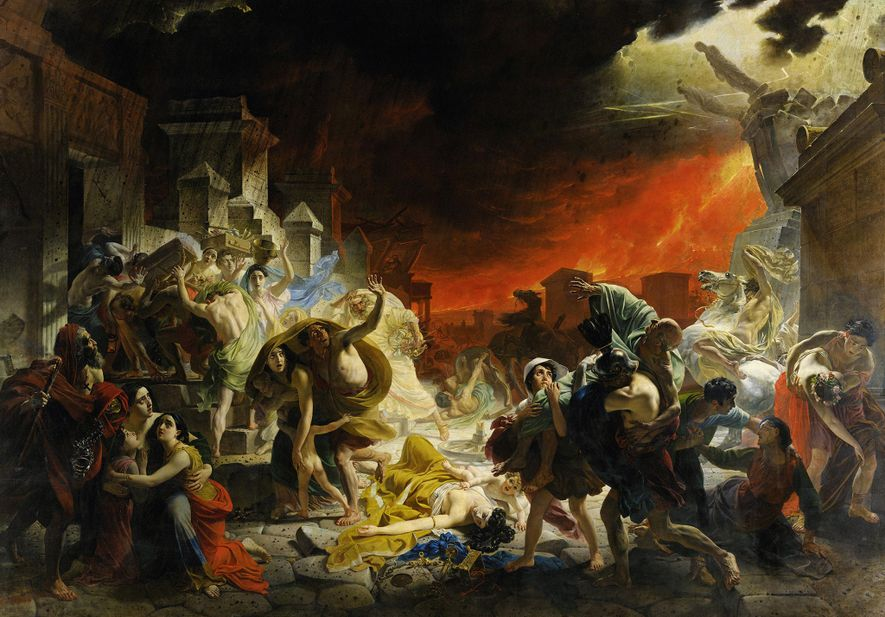 Did Vesuvius Vaporise its Victims? Find the truth