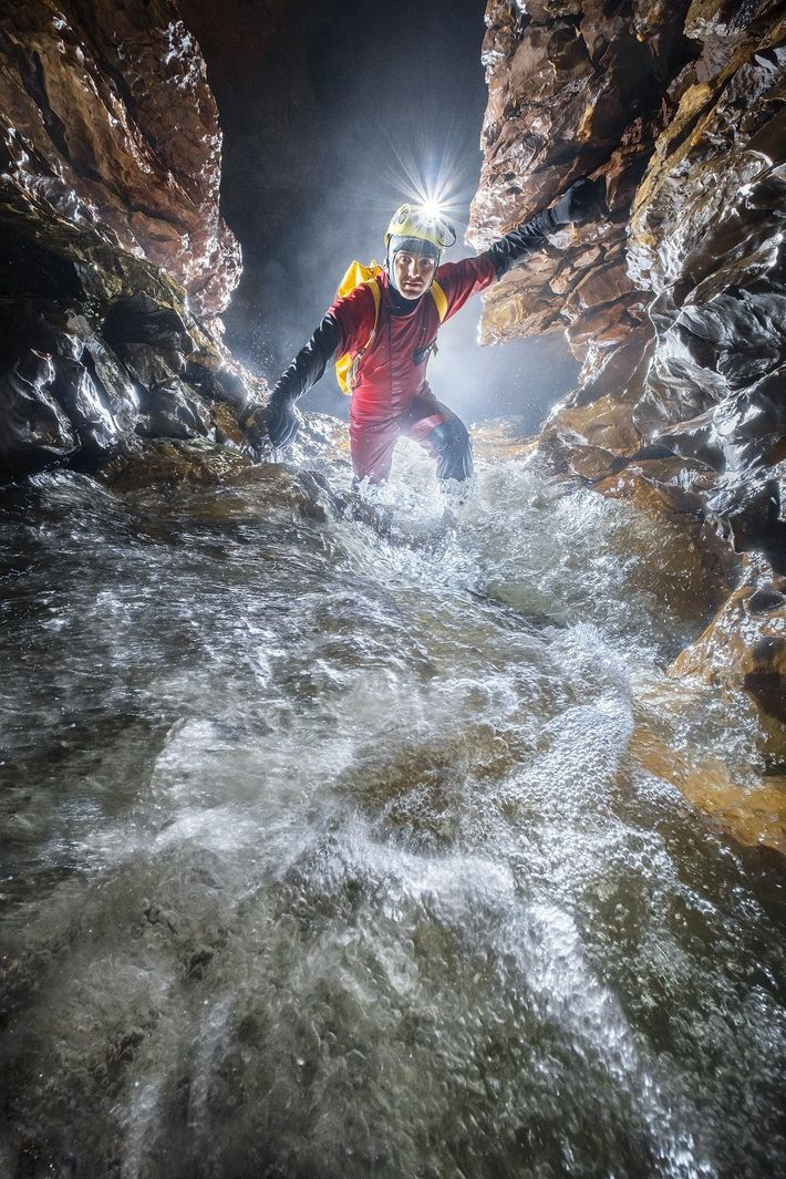 Your Shot photographer Rémi Flament photographed Marius during an expedition in the limestone karsts of Romania.