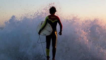 Soft surf to sharp suits: your photos of the week