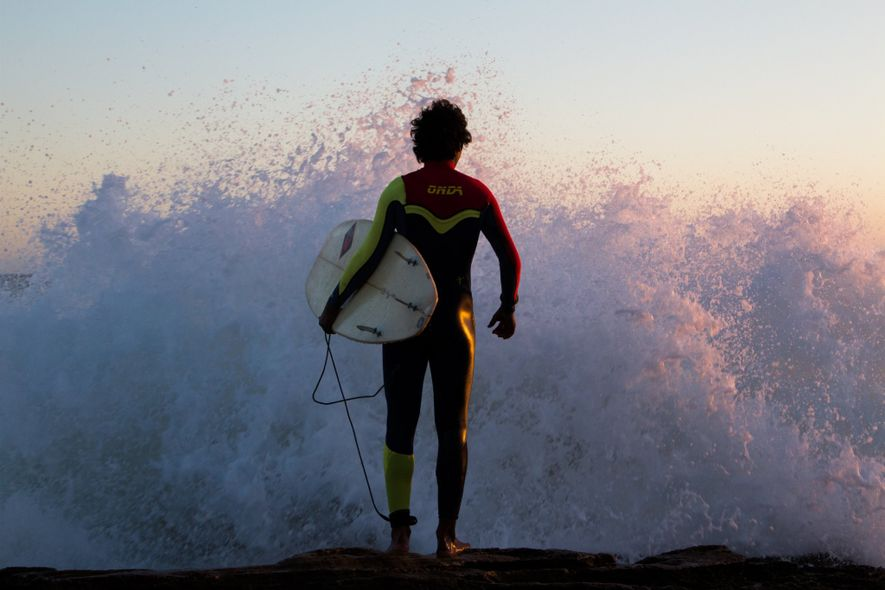 Your Shot photographer Katherine P. photographed this surfer as they stood waiting for the perfect moment …