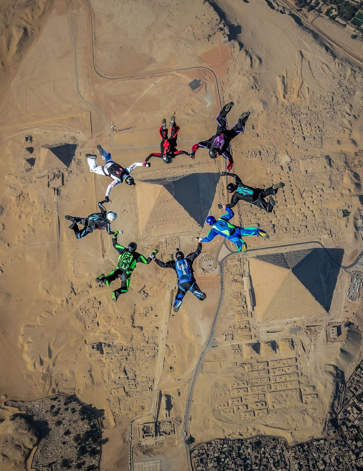 """An extremely unique opportunity was given to a small group of skydivers in December 2018 to ..."