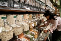 Buying in bulk can help familes use less plastic packaging, while serving as a teaching moment ...