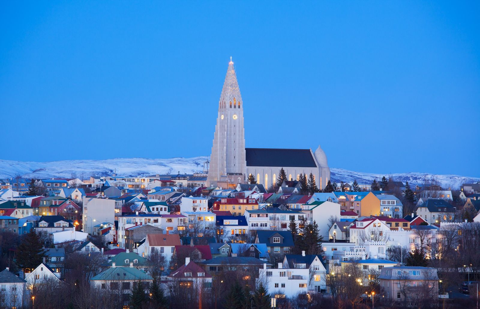 Iceland's tallest church was inspired by volcanoes