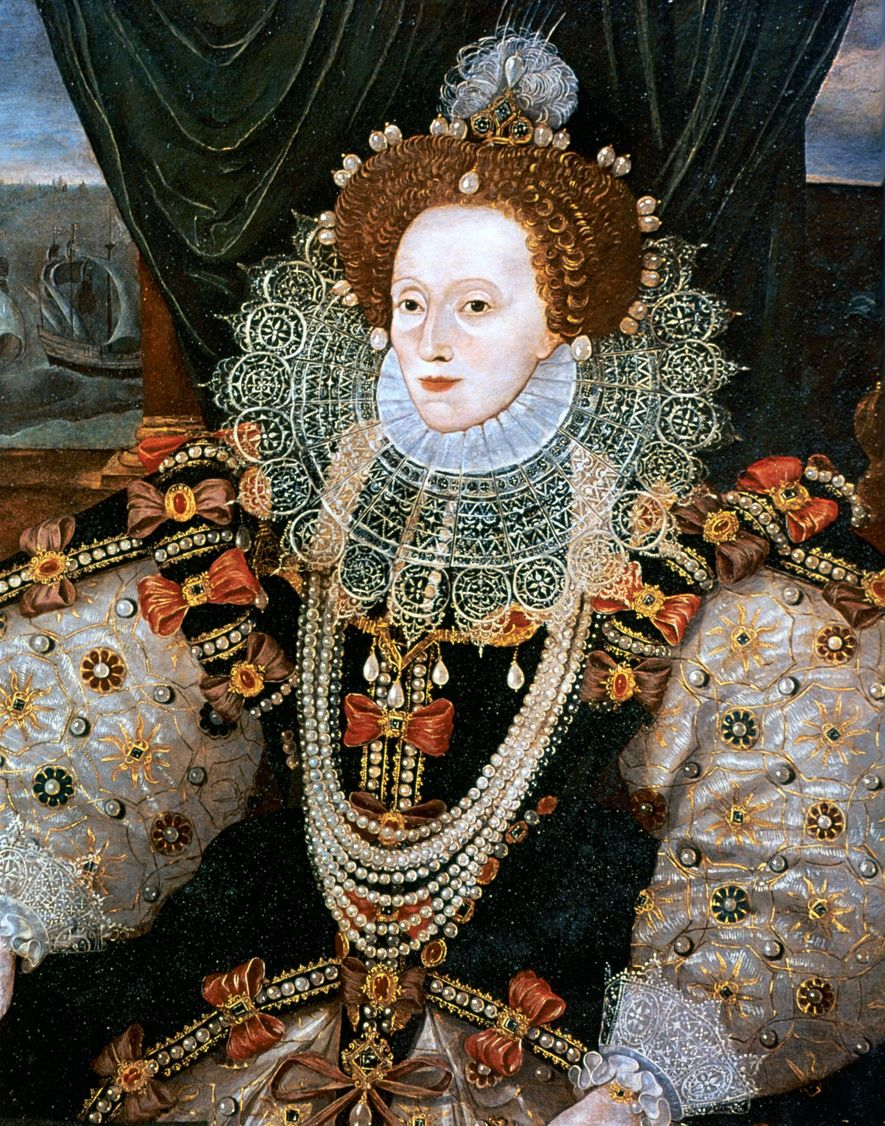 The last Tudor monarch, Queen Elizabeth ruled from 1558 until 1603. She famously survived a bout ...