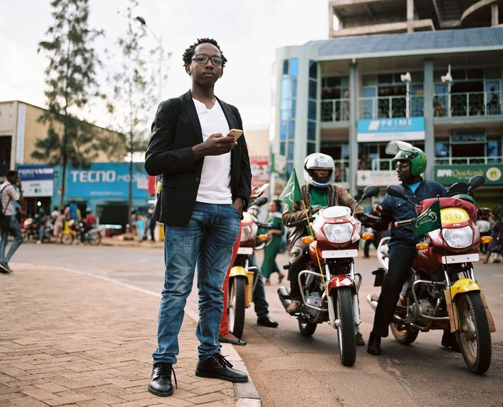An uber-like company aims to help riders find safe motorcycle drivers. Peter Kariuki, who taught himself ...