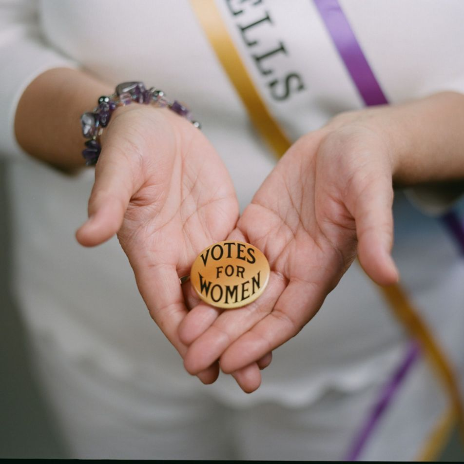 Why suffragists wore white, and more feminist symbols interpreted