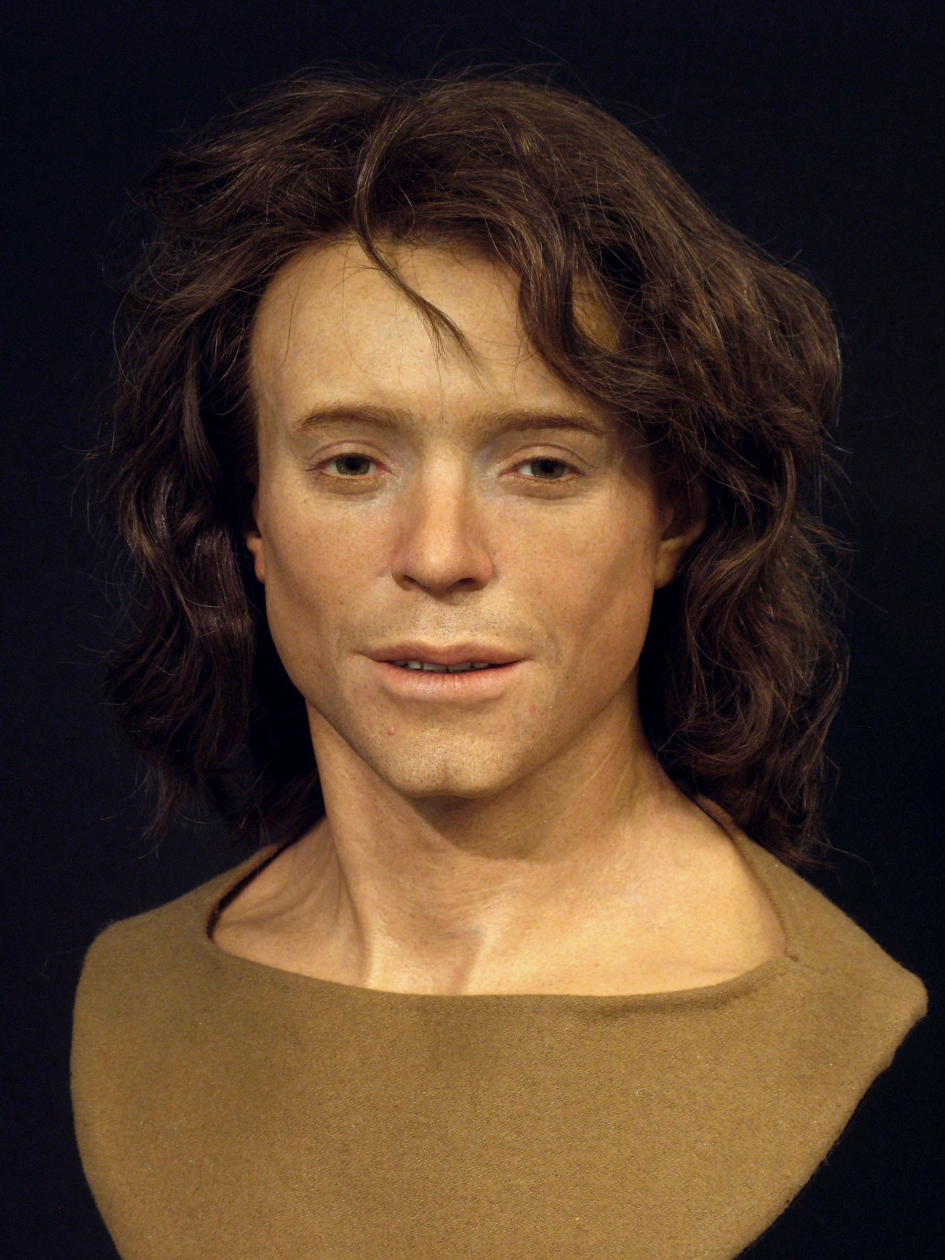 Adelasius Ebalchus, who lived in northern Swizterland 1,300 years ago. He was in his late teens or early twenties when he died.