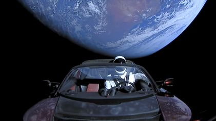 Elon Musk's Tesla in Space Could Crash Into Earth
