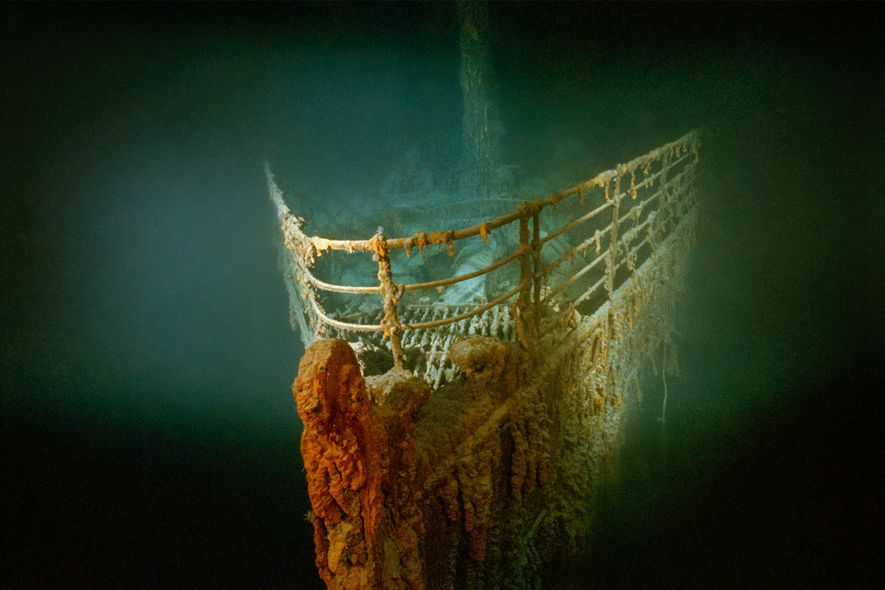 Titanic Was Found During Secret Cold War Navy Mission