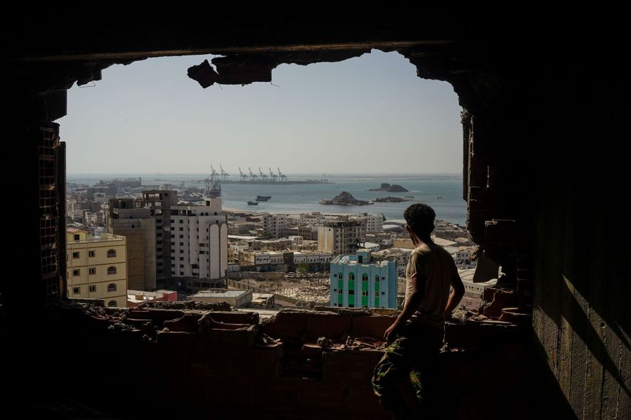 A Yemeni soldier with an Emirati-backed separatist militia remembers the 2015 attack on the southern port ...